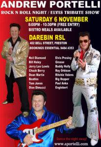 Darebin RSL 11th November 2021
